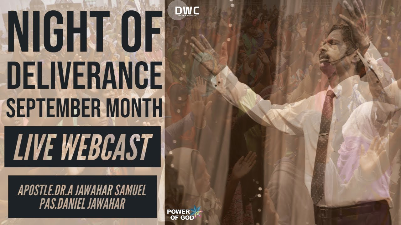 YOU ARE PREORDAINED | NIGHT OF DELIVERANCE | APOSTLE DR A JAWAHAR SAMUEL |  PAS DANIEL JAWAHAR