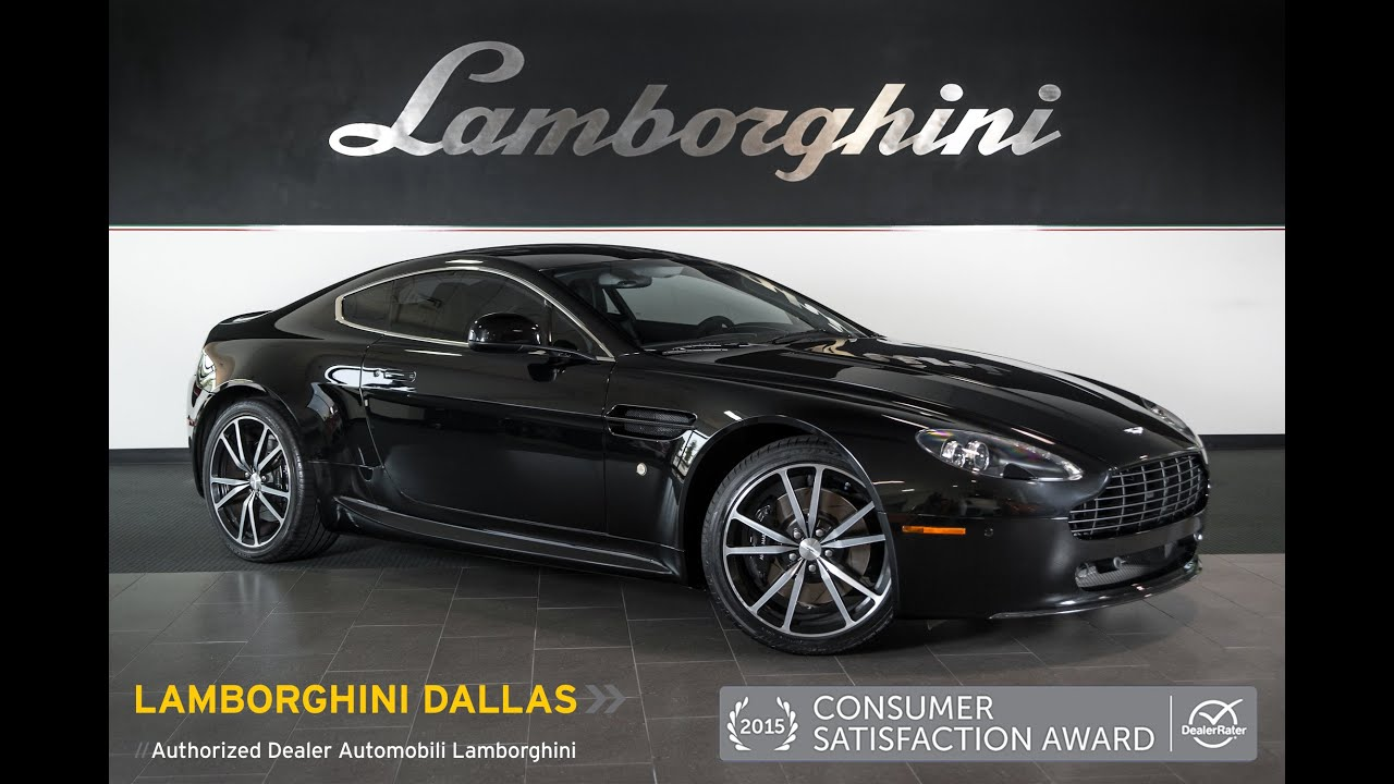 Aston Martin Vantage N Metallic Black L YouTube - Aston martin dealership texas