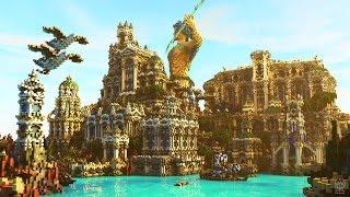 Minecraft Timelapse Ep. 6 | Atlantide | NewHeaven