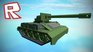 [ROBLOX Speed Build] - Tank