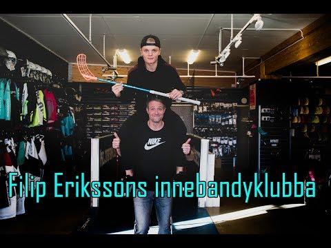 Filip Erikssons innebandyklubba.