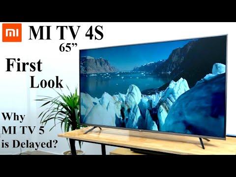 mi-tv-4s-65-inch-first-look,-full-specification-&-price-|-mi-tv-5-delay?-|-#mitv5-#mitv4s
