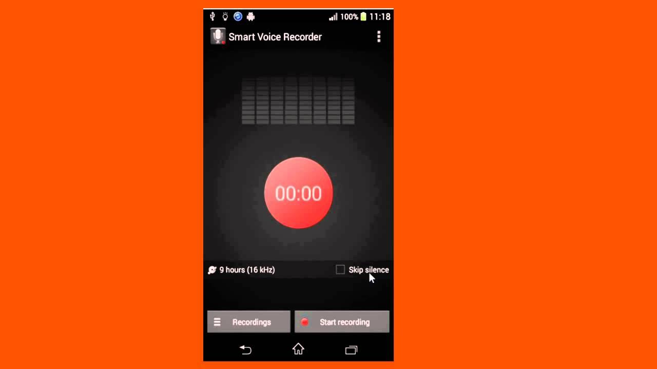 smart voice recorder pro apk
