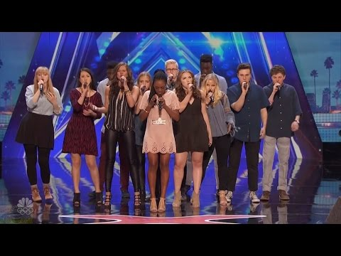 America's Got Talent 2016 One Voice Choir Vocal Harmony Full Audition Clip S11E03