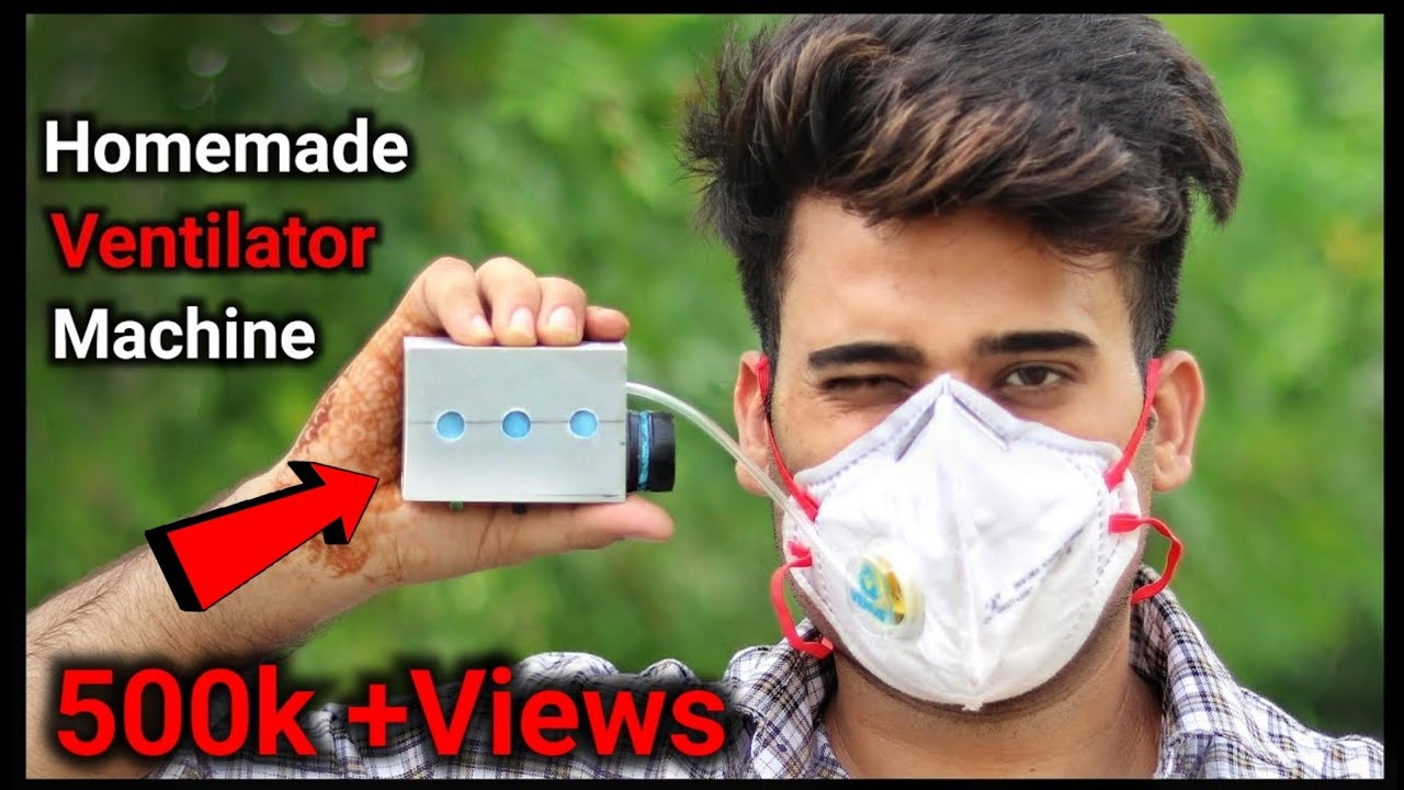 Corona Safety Gadget || How To Make Mini Ventilator Machine || Ventilator Machine