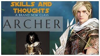 Black Desert - Archer Skills and Thoughts