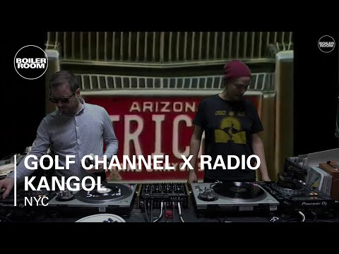 Golf Channel x Radio Kangol Boiler Room New York Studio Live Set