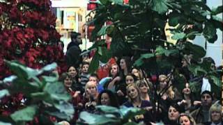 Monmouth Mall Flash Mob Dance for Mary