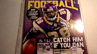 Adrian Peterson - RC card & NFL Beckett 2007