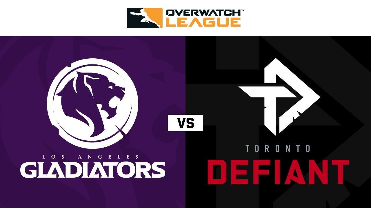 Los Angeles Gladiators vs Toronto Defiant | Countdown Cup | NA Jour 1