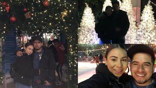 Vlogmas day 19: ROMANTIC ICE SKATING DATE