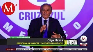 Desmienten destitución de Billy Álvarez de Cooperativa Cruz Azul
