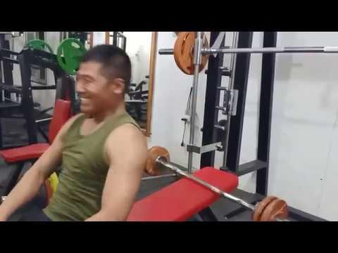 Gym Workout With My Friend
