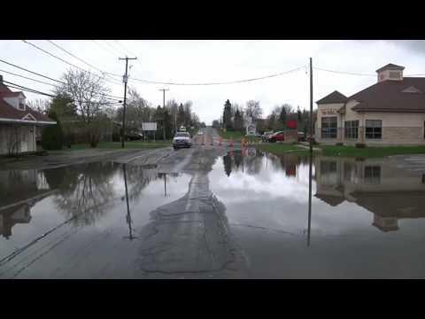 inondation à deux montagnes et saint joseph du lac le 6 mai 2017 movie
