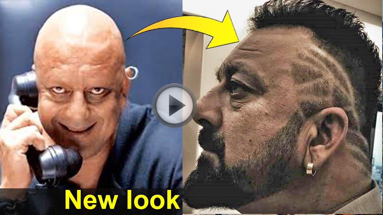 Sanjay Dutt Hair Style New Look Gupshup Guru Youtube