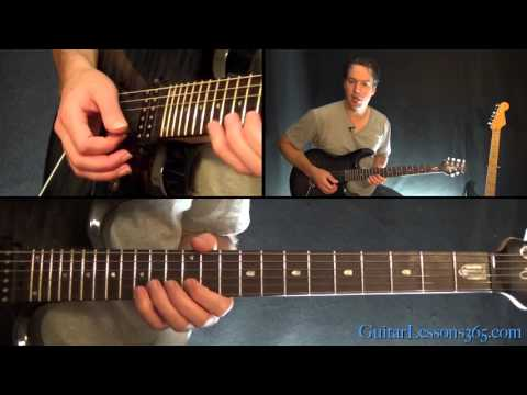Faithfully Guitar Solo Lesson - Journey