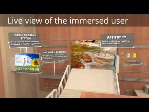 Architecture Interactive Virtual Design: Hospital Patient Room and Research Lab