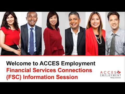 Financial Service Connections Information Session
