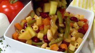 How to Make The Best Crockpot Minestrone Soup