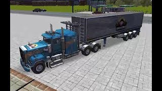 SKILL 3D PARKING - THUNDER TRUCKS GAME LEVEL 10-12 WALKTHROUGH