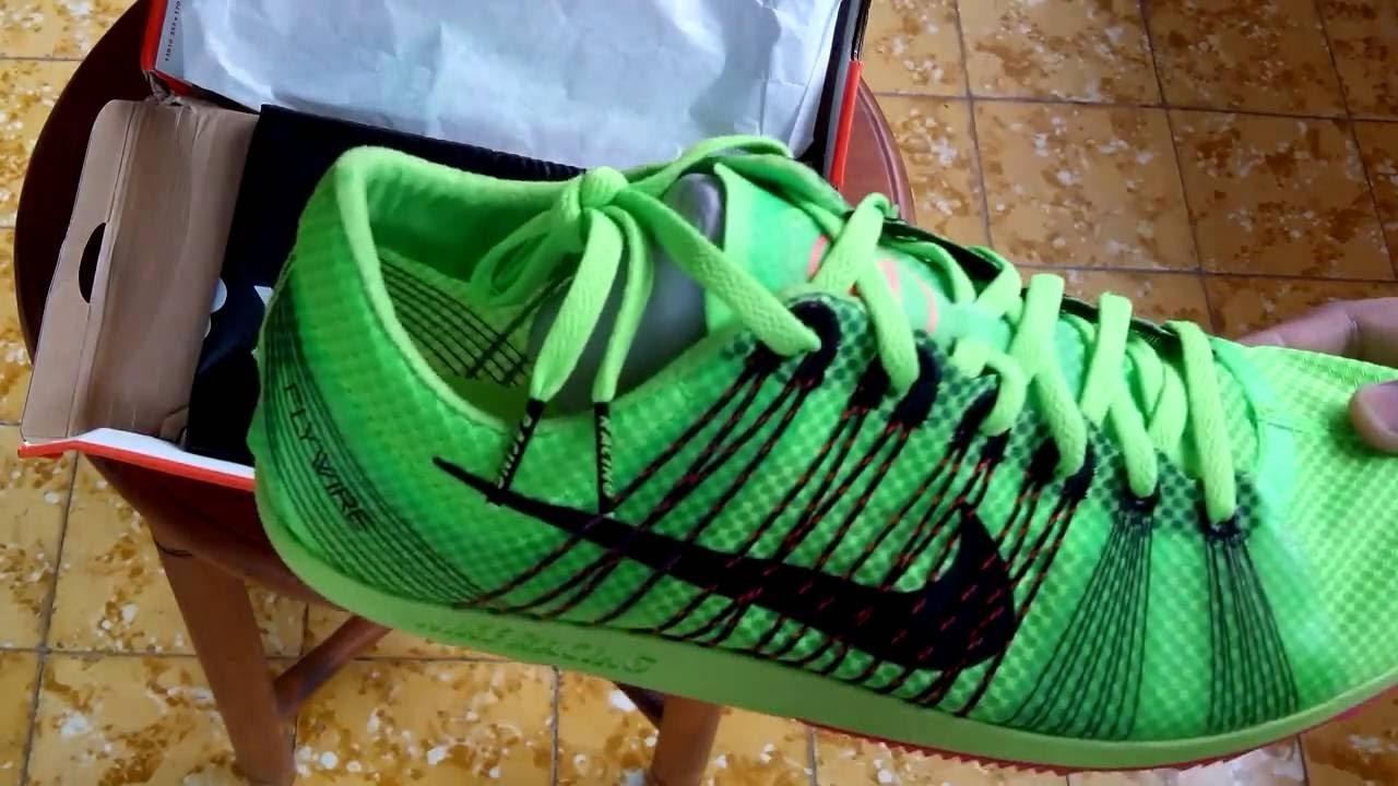 Sepatu Spikes Nike Zoom Matumbo 2 Electric Green 526625 306 Unboxing