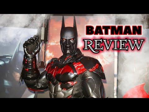 REVIEW : HOT TOYS FUTURA BATMAN. ARKHAM KNIGHT FIGURE