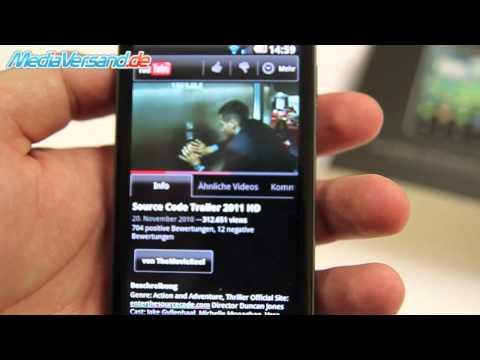 LG P990 OPTIMUS SPEED Einblick Android Google Handy Telefon Mobile