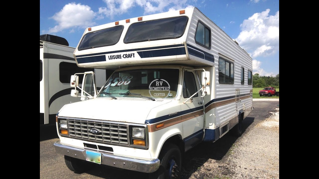 1986 Leisure Craft 28 39 Class C Motorhome Youngstown Ohio