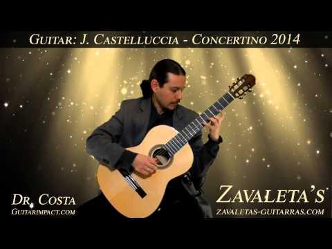 2014 J.B. Castellucia Model Concertino. Eduardo M. Costa plays