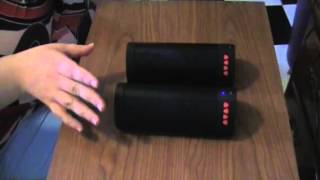 ideausa taco dual wireless speaker stereo pair surround sound bluetooth speake x264