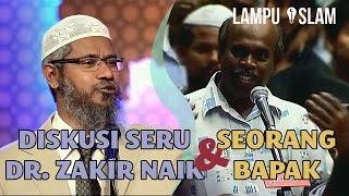 Diskusi Seru Dr. Zakir Naik dan Seorang Bapak Tentang Kristen