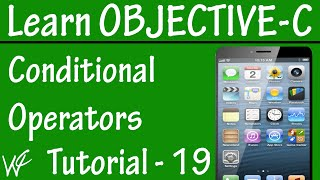 Free Objective C Programming Tutorial for Beginners 19 - Condition or Ternary Operator