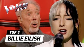 Incredible BILLIE EILISH covers in The Voice