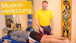 Muskelverletzungen ⚡️ Zerrung, Muskelfaserriss & Muskelbündelriss behandeln