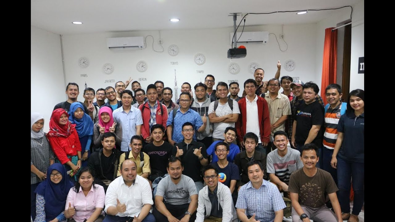 YiiConf Day 1 | Komunitas Yii Indonesia | Mozilla Community Space Jakarta