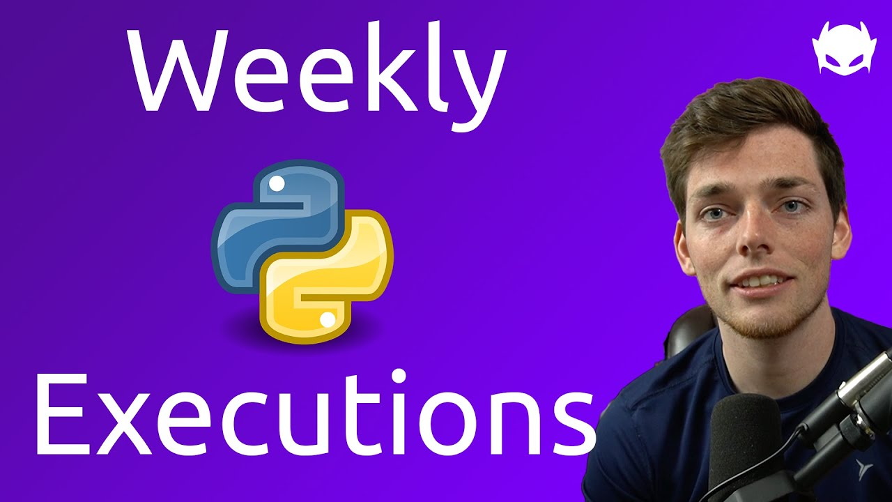 Execute Python Weekly to Email Excel Generated Reports