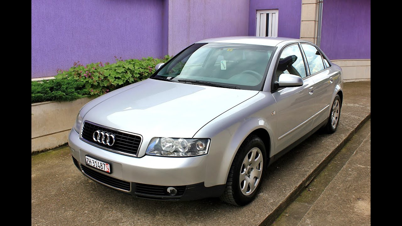 audi a4 b6 2001 2 0 automatic sedan 131hp youtube. Black Bedroom Furniture Sets. Home Design Ideas