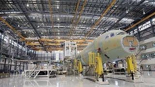 """""""إيرباص"""" تفتتح أول مصانعها لإنتاج الطائرات في الولايات المتحدة"""