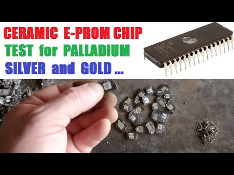 Ceramic E-prom Chip Test For Palladium,Silve And Gold...