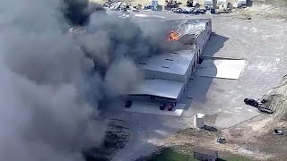 Workers injured in liquid chemical plant explosion in Texas