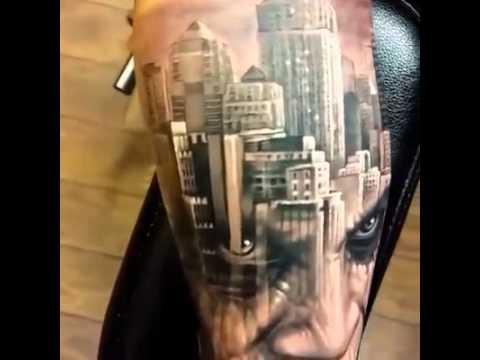 Gotham tattoo