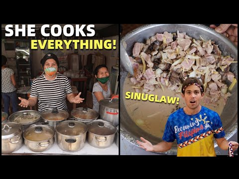 THIS FILIPINA COOKS EVERY FILIPINO FOOD! Philippines Best Carinderias (Cagayan de Oro)