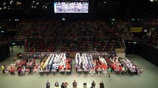 31 12 2016香港步操樂團公開賽 頒獎典禮
