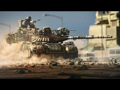 Armored Warfare:Пытаемся тащить