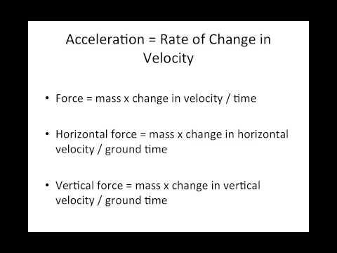 Biomechanics of Sprinting: Sports Science Tutorial