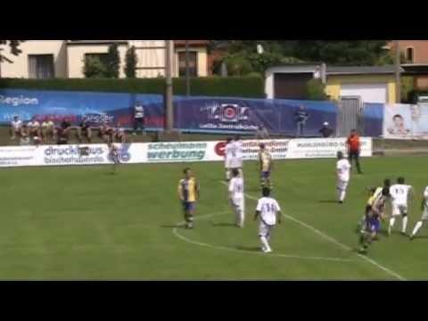 06 08 2011 Fussball Sachsen Landesliga Bischofswerdaer Fv08 Heidenauer Sv