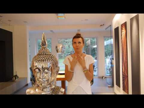 Polish interview with Kasia Koziol during the retreat Live Mindfully