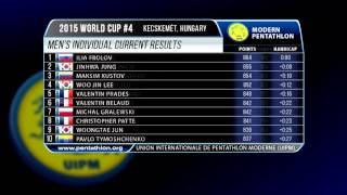 UIPM 2015 World Cup #4 - Men