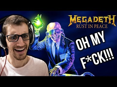 Hip-Hop Head's FULL ALBUM Reaction to RUST IN PEACE by MEGADETH (Part 1)