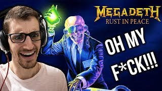 Hip Hop Head S FULL ALBUM Reaction To RUST IN PEACE By MEGADETH Part 1